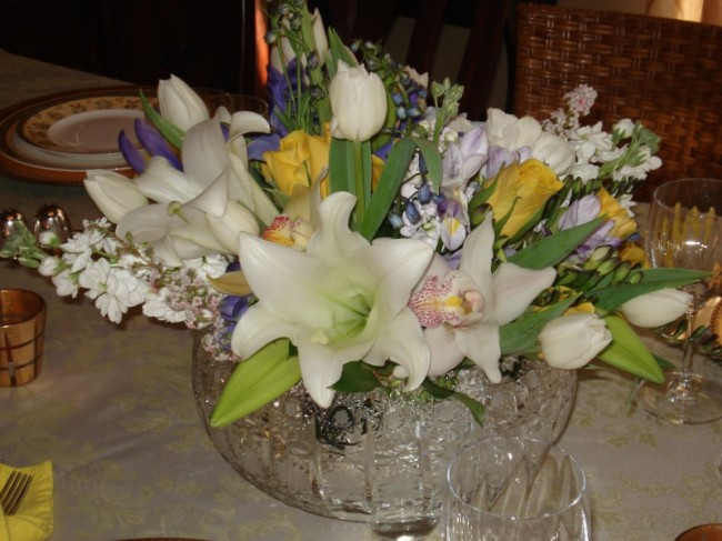 Spring Elegant Wedding Centerpiece Share