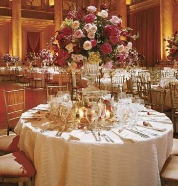 Wedding Reception Tall Centerpieces A Rose Bouquet Archive