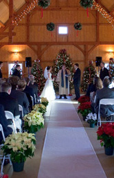Formal Ceremony in the Barn