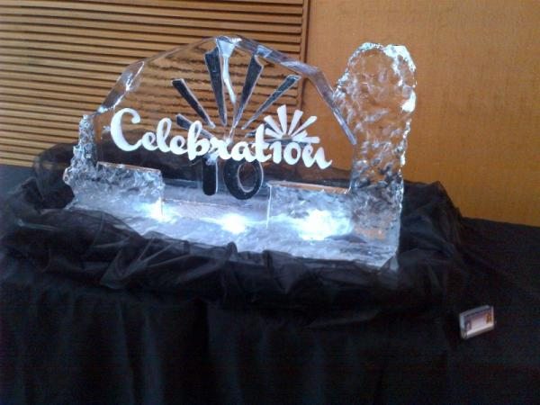 Celebration Ice Sculpture