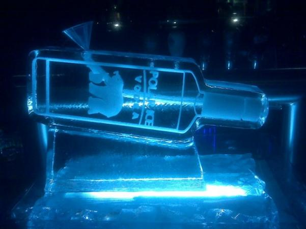 Vodka Ice Sculpture
