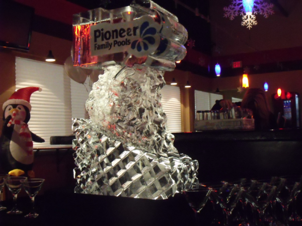 Festive Ice Sculptures