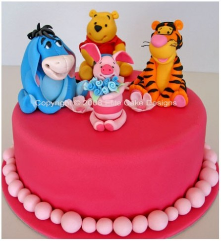 Winnie The Pooh And Friends Cake Personal]