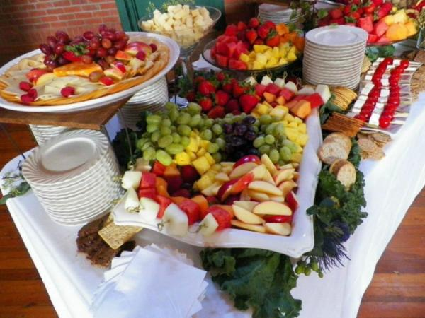 Fruit and Cheese Platters