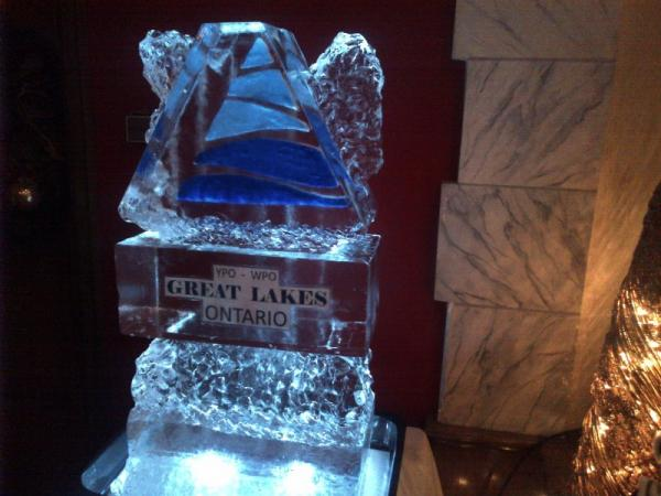Great Lakes Ice Sculpture