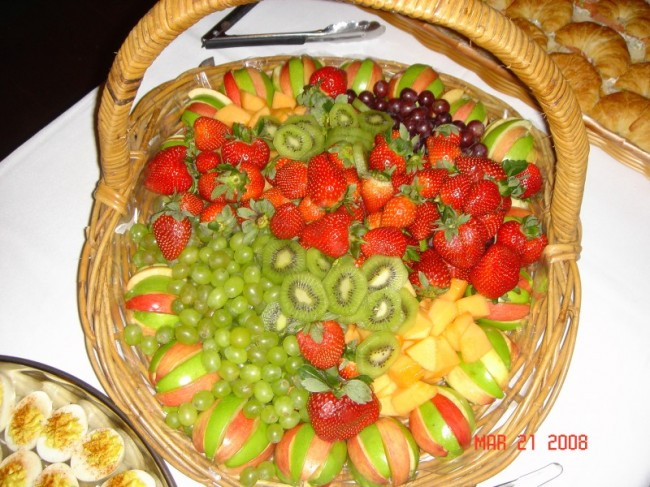 Many Different Styles of Fruit Trays