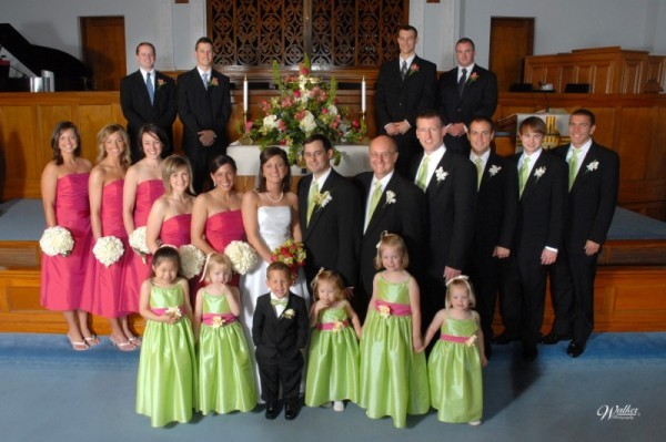Bridal party and groomsmen — The Knot