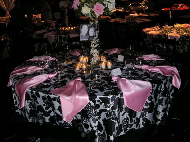 Perfect Pink and White Wedding Reception Table Setting 650 x 487 · 92 kB · jpeg