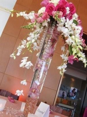Bench 39 s blog lazaro wedding dresses teal pink ivory Wedding dress vase