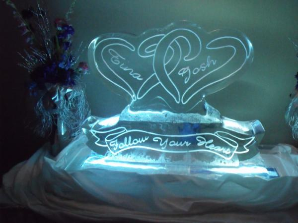 Wedding Icesculpture