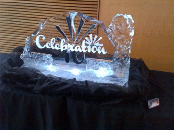 Ice Sculpture (Celebration)
