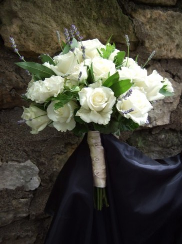 Herbs & Roses Wedding Bouquet personal