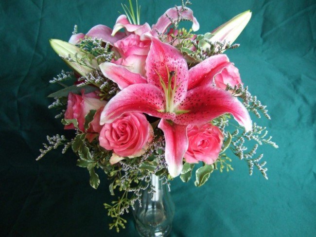 Stargazer Lily Wedding - Wedding Flowers and Reception Ideas