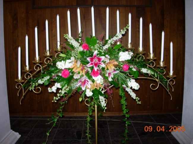 Wholesale Silver Pedestals, Silver Flower Towers, Columns and