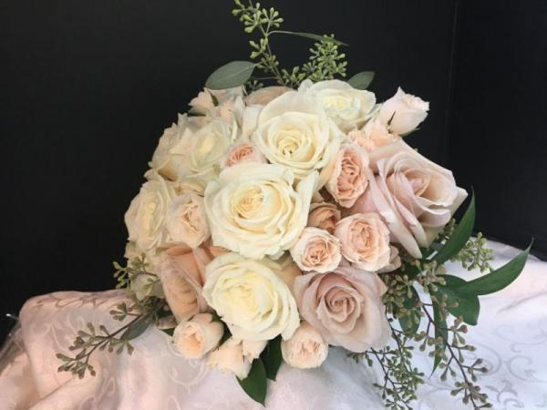 Champagne Bridal Bouquet