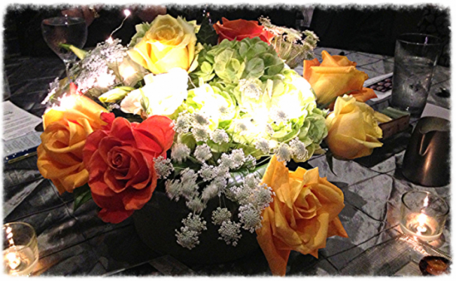 Jersey Lighted Centerpiece
