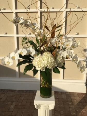 Orchid  Ceremony Arrangement