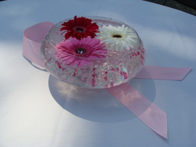 [Breast Cancer Fundraiser Centerpiece]