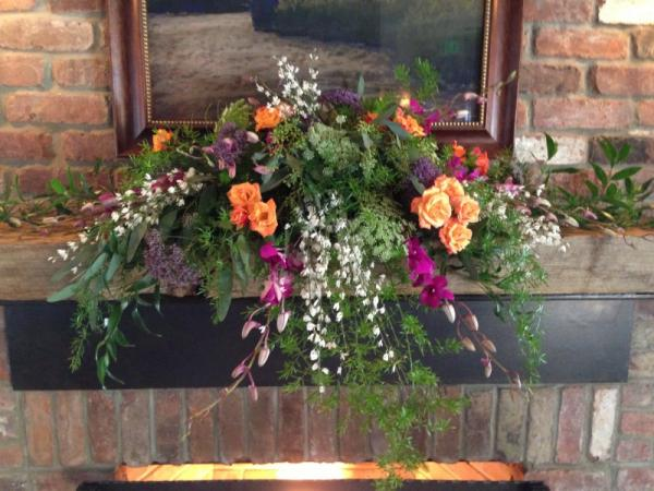 Mantel Floral Decoration