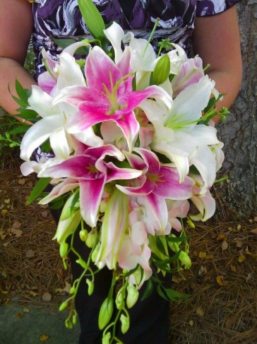 Gorgeous Lily Bridal Bouquet