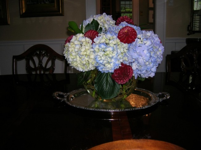 Dining Room Centerpiece