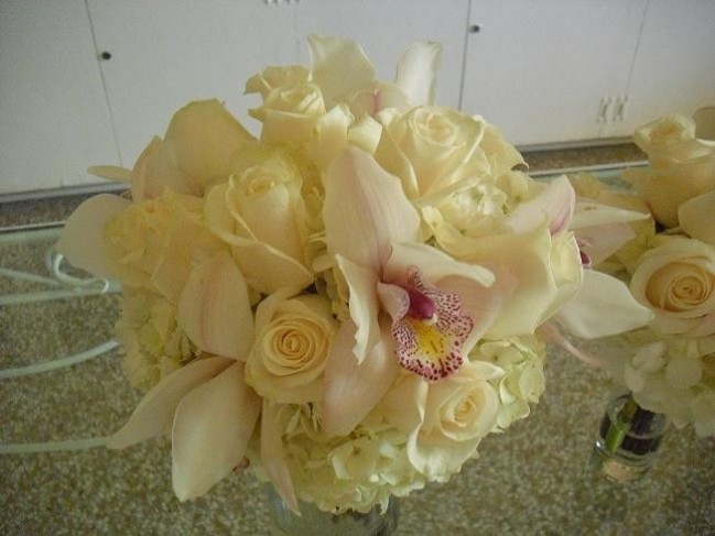Sunshine Yellow Bridal Bouquet personal