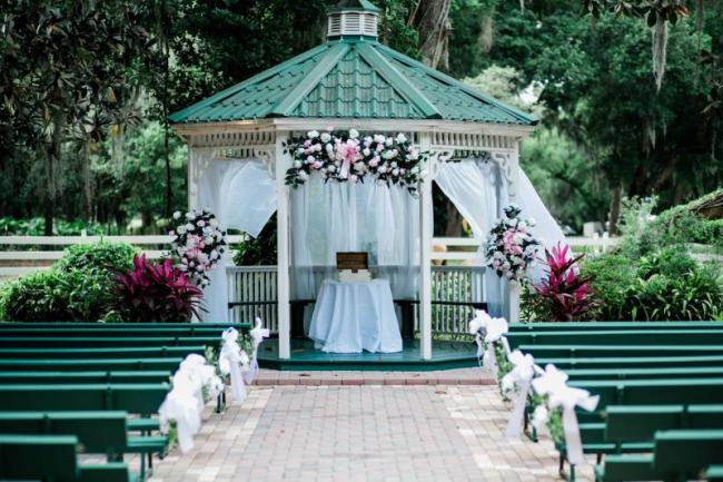 pretty in pink gazebo