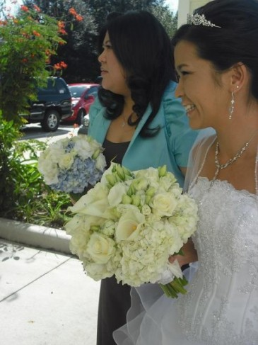 Lightly Colored Bridal Bouquet personal