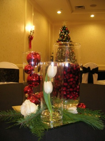 Christmas Wedding Reception