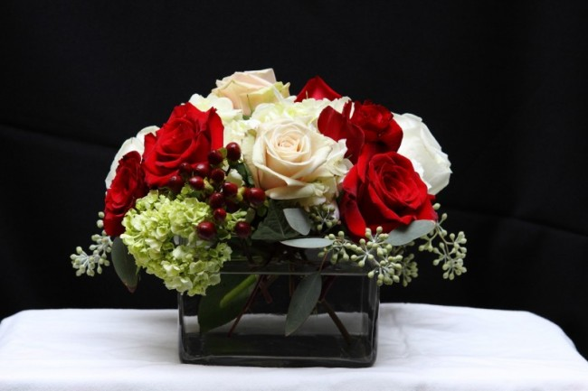 Christmas Wedding Reception Centerpiece Share