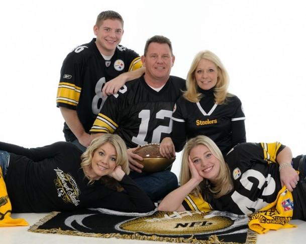 Football Themed Family Portraiture ShareFamily Football