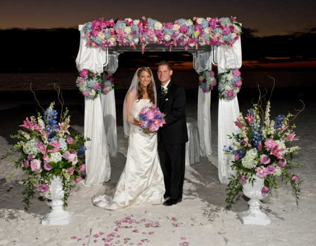 Beautiful Wedding Arbor Share