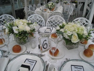 Beautiful Centerpiece Set Up