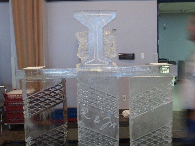 Detailed Ice Bar For A Party
