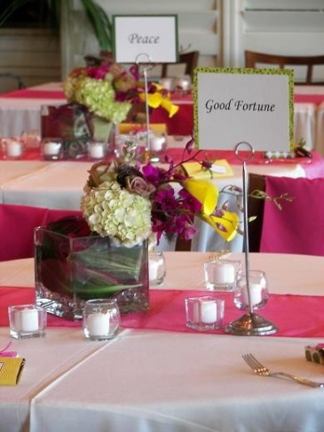Hand Tied Bouquet Centerpieces