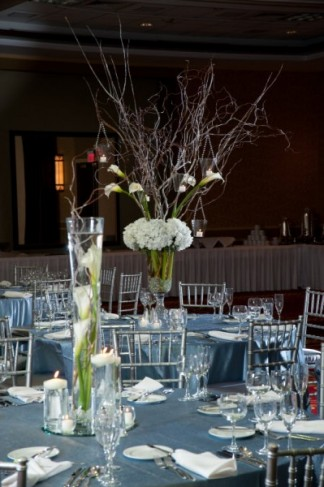 Photo Gallery - Photo of Unique Calla Lily Wedding Centerpieces