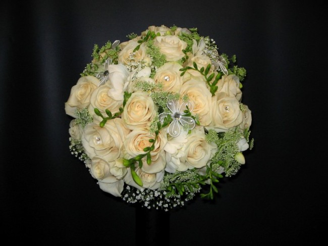 Gorgeous Rose Wedding Bouquet