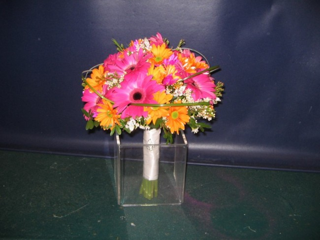 Bright Daisy Wedding Bouquet