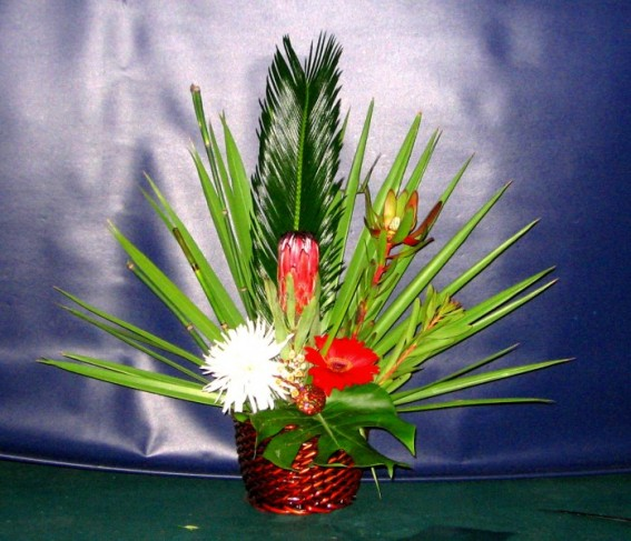 Tropical Island Flower Arrangement