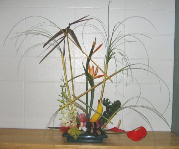 Wild Tropical Nights Flower Arrangement