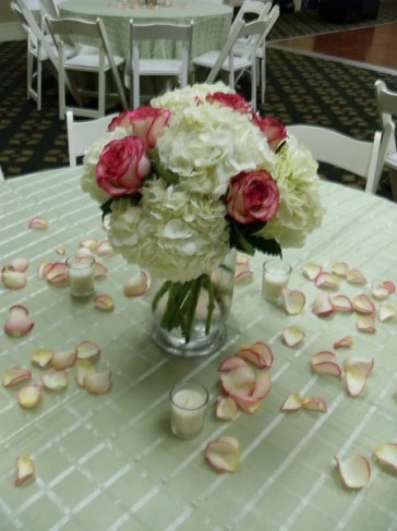 Pretty Petal Flower Centerpiece