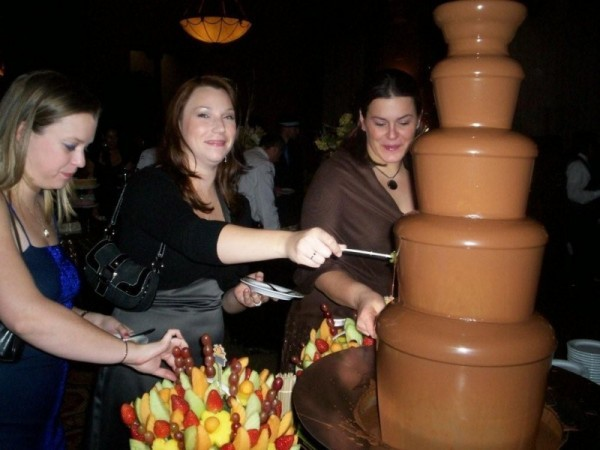 MMMM. Chocolate Fountain Rich