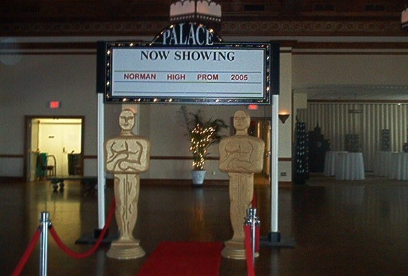 Photo Gallery Photo Of Movie Themed Prom Decorations