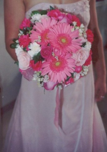 Beautiful Pink Bridesmaid Bouquet