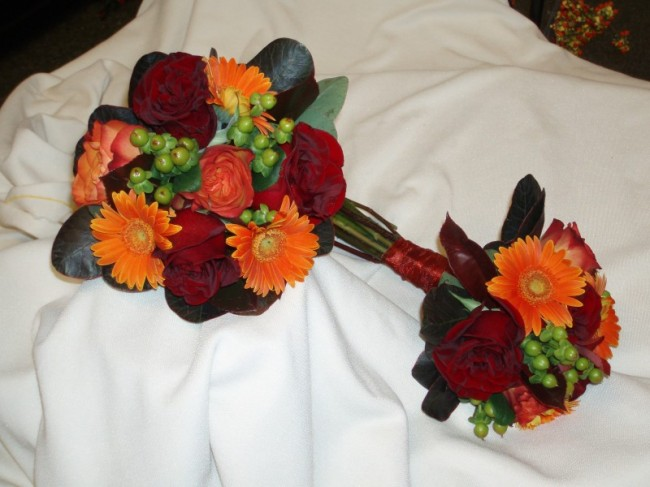 The Perfect Fall Bridal Bouquet