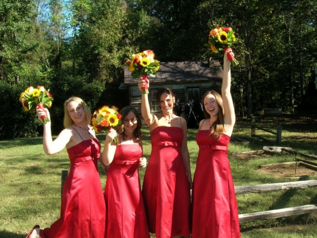 The Happy Bridesmaids
