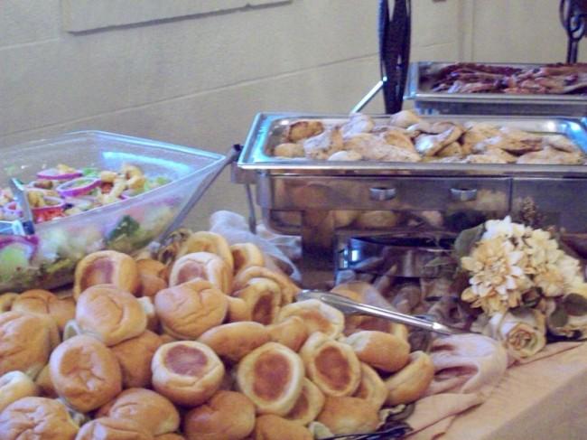 Photo gallery photo of buffet setup