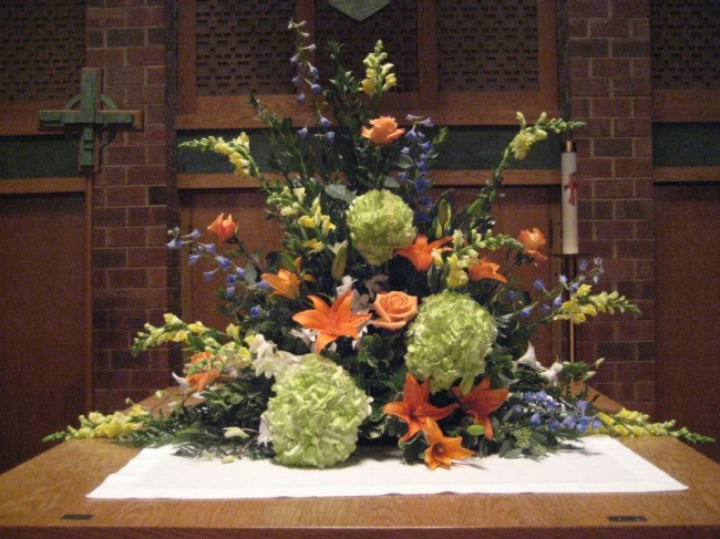 Altar Flower Arrangement 650 x 487 · 96 kB · jpeg