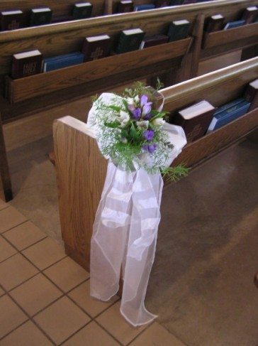 Great for wedding ceremony decorations Submitted by Mary 39s Flowers in