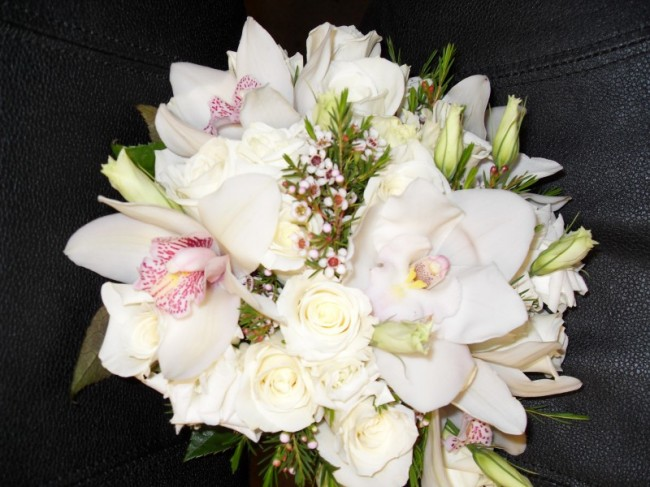 Ivory Wedding Bouquet